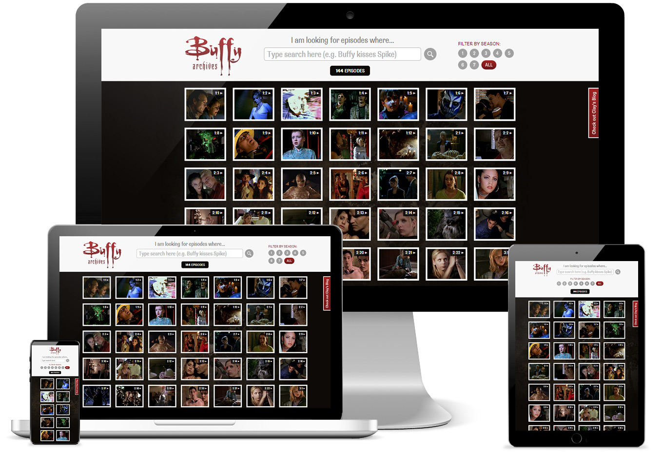 Buffy Archives (Responsive)