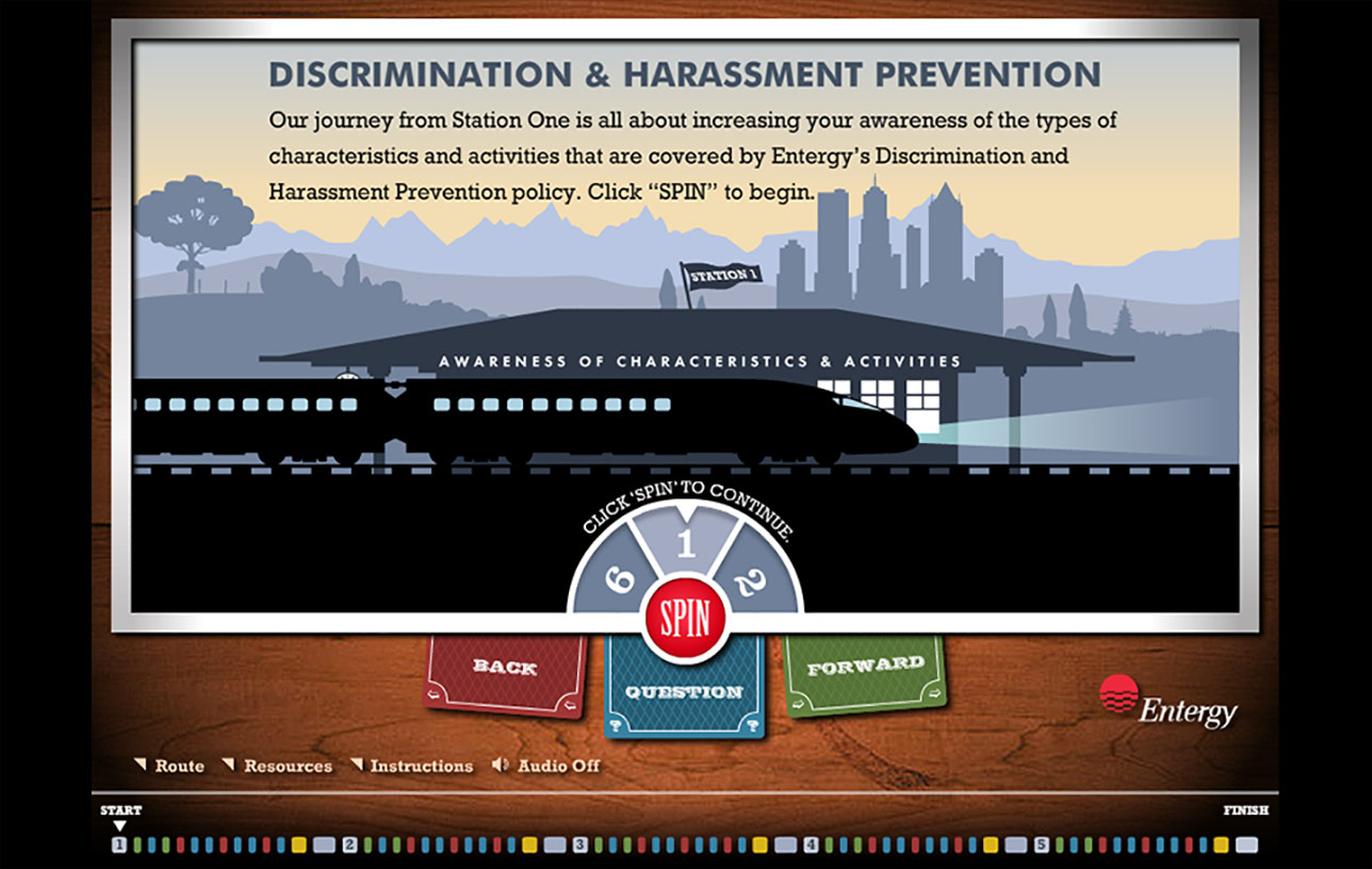 Entergy Discrimination & Harassment Prevention (e-Learning) Image 02