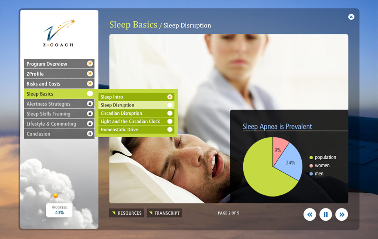 Z-Coach Sleep Basics (e-Learning) Image 02