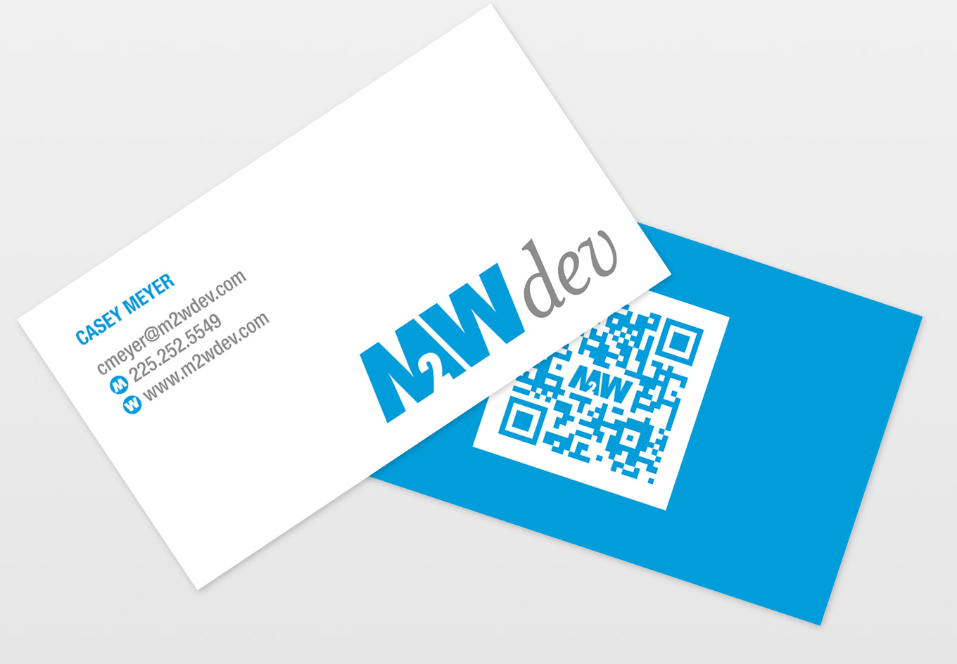 M2Wdev Business Cards