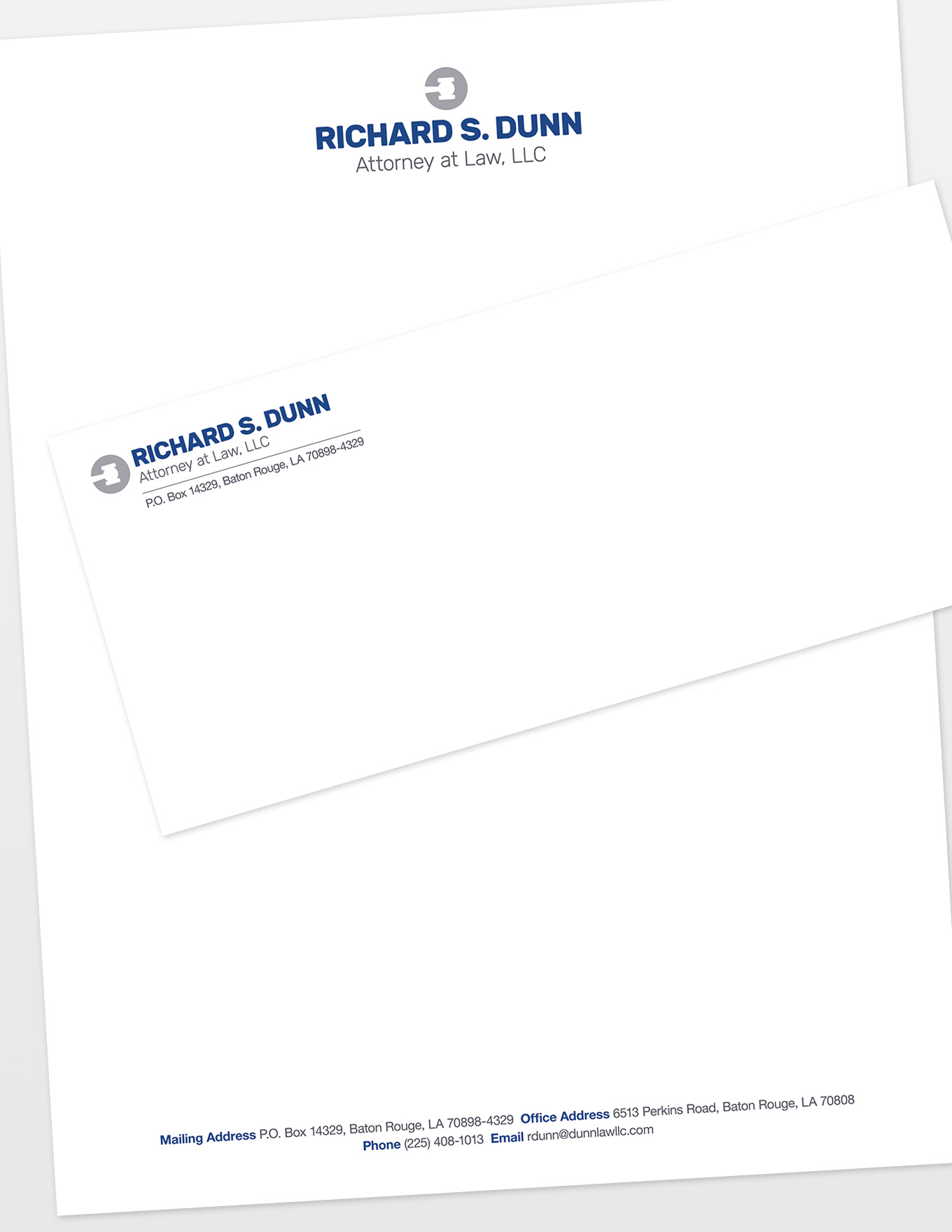 Richard S. Dunn, Attorney at Law Letterhead & Envelopes
