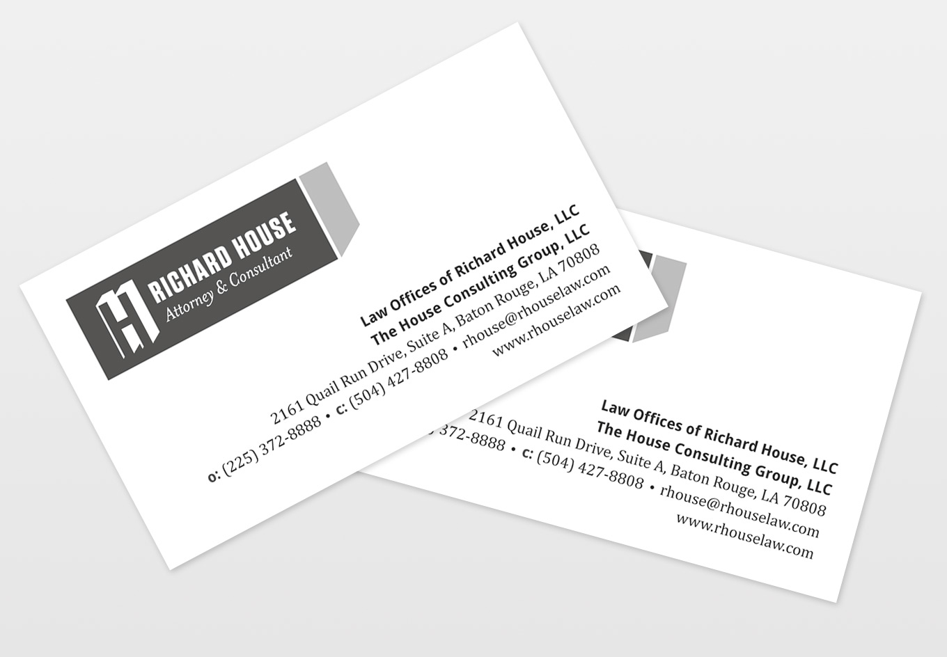 Richard House Business Cards