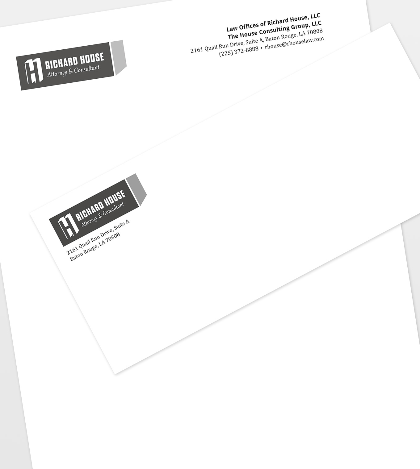 Richard House Letterhead & Envelopes