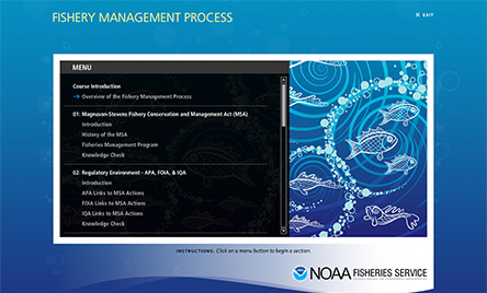 NOAA Fishery Mgmt. Process