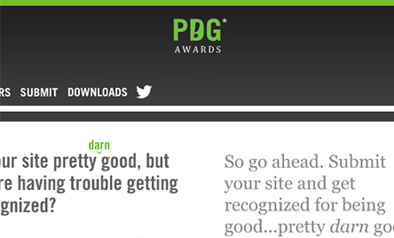 PDG Awards