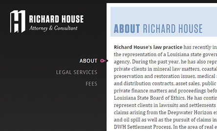 Richard House, Attorney